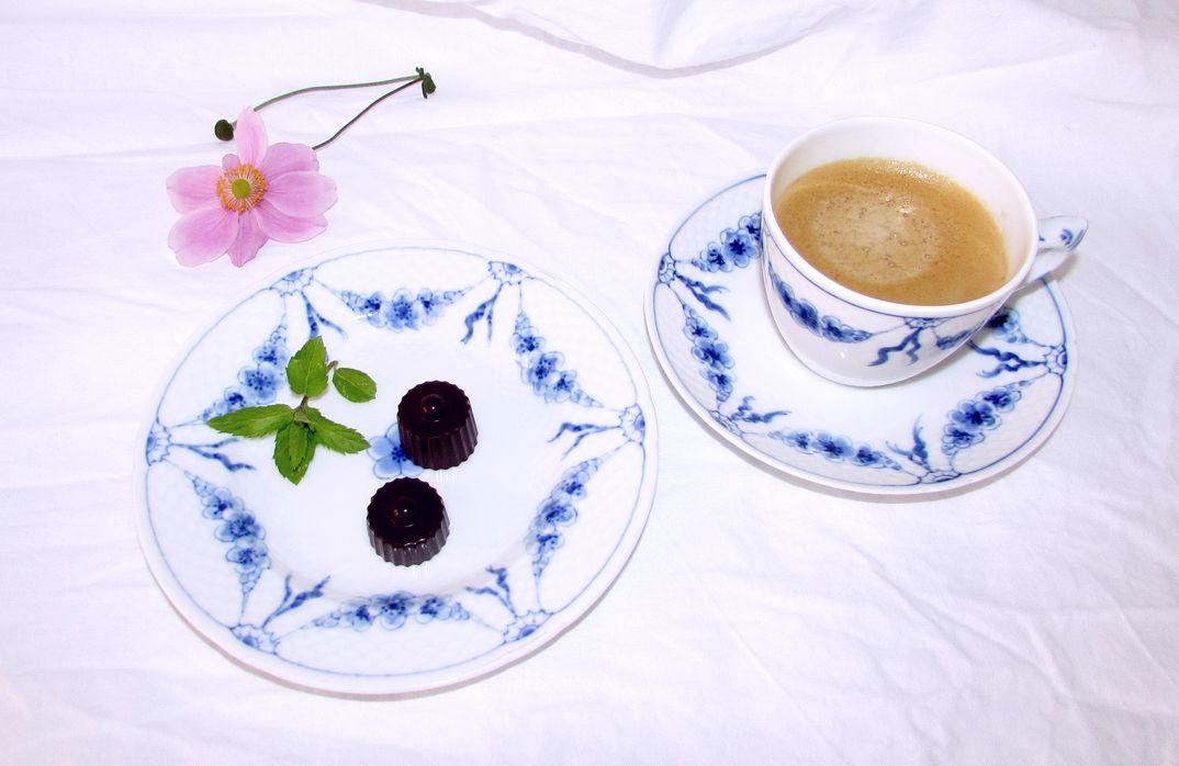 Kaffe med sødt - MUMS!
